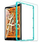 ESR iPad Mini5 2019 Mini4 ガラスフィルム 高度透明 3倍強化 旭硝子 9H スクラッチ防止 気泡防止 自動吸着 貼り付け枠付き iPad Mini5/Mini4通用 保護フィルム