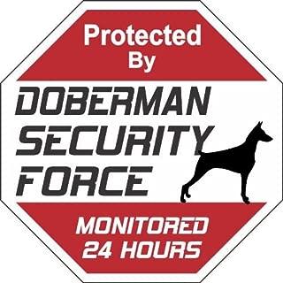 Doberman Dog Yard Sign