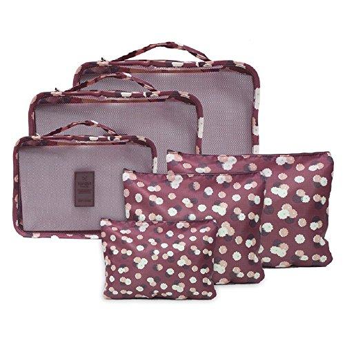 Novago - Juego completo de diferentes bolsas, organizadores de maleta y viaje