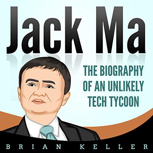 Jack Ma audiobook cover art