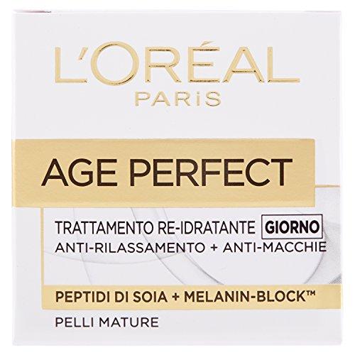 L'Oréal Paris Age Perfect Crema Viso Re-Idratante Giorno, 50 ml