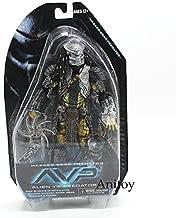 Alien vs. Predator Masked Scar Predator and Scar Predator PVC Action Figure Collectible Model Toy 21cm (1)