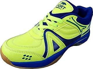 Port Men's Synthetic Green Indoor Court Shoes
