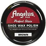 Angelus Shoe Wax Polish Black, Brown, Neutral Variety 3 Pack