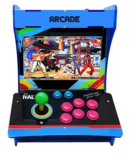ITAL Recreativa Arcade / Consola Retro de Sobremesa / Miles de Juegos...
