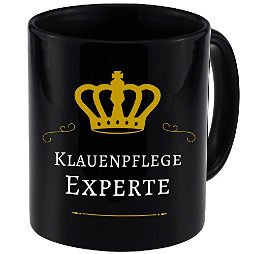 Tasse Klauenpflege Experte schwarz