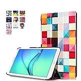 Coque Samsung Galaxy Tab E 9.6 - Noir Style de Smart Cover Case Etui à Rabat avec...