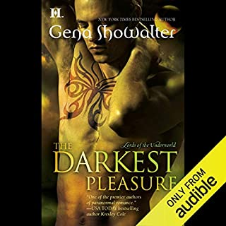 The Darkest Pleasure audiobook cover art