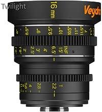 Veydra 16mm T2.2 Mini Prime Lens (C-Mount, Feet)