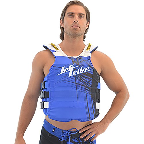 Best Deals! Spike USCG Coast Guard Life Vest/Life Jacket PWC Jet ski Accessories (Blue, S/M)