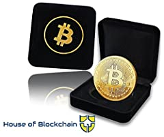 A MUST-HAVE FOR BITCOIN FANS! Proudly showcase your successful joining of life-changing Blockchain revolution! Quality crafted with great attention to minor details, this gold bitcoin coin will make a modern, elegant, stylish addition to the collecti...