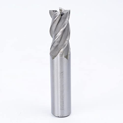 high quality 1PCS new arrival 4 Flute Straight Shank HSS Stand Milling Cutter online sale ,For use on hard materials 19mm Cutting Diameter,20mm Shank Diameter,38mm Blade length,104mm Overall Length, outlet online sale