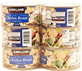 Kirkland Signature Premium Chunk Chicken Breast Packed in Water, 12.5 Ounce, 6 Count - PACK OF 2