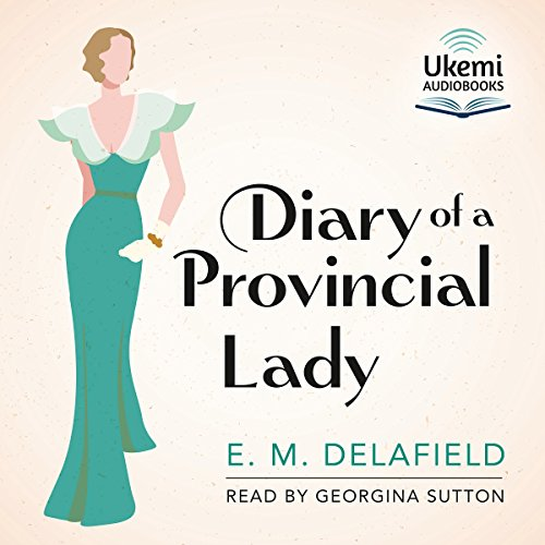 The Diary of a Provincial Lady audiobook cover art
