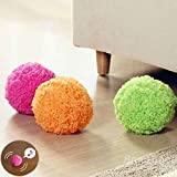 Leegor Creative Automatic Rolling Ball Electric Cleaner Mocoro Mini Sweeping Robot Cute Novelty Automatic Vacuum Cleaner