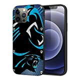 Yeuss Compatible with iPhone 12 Case, Compatible with iPhone 12 Pro Case Black Panther Blue Silver White Full Body Protector Shockproof Cover for Phone Case 6.1 Inch