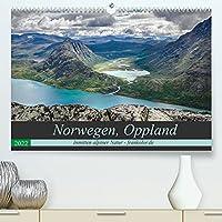 """Norwegen, Oppland (Premium, hochwertiger DIN A2 Wandkalender 2022, Kunstdruck in Hochglanz): Auf Wanderschaft """"In the Middle of Norway"""" (Monatskalender, 14 Seiten )"""