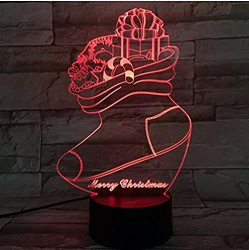 3D ilusión lámpara LED Luz nocturna Hulk@ para hombres, mujeres, niños, niñas, regalo Con interfaz USB, cambio de color colorido