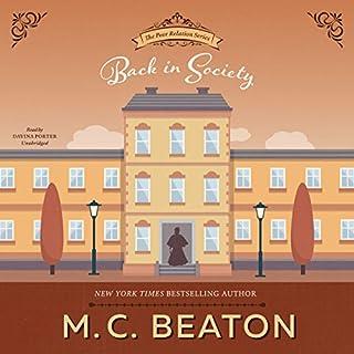 Back in Society: A Regency Romance audiobook cover art