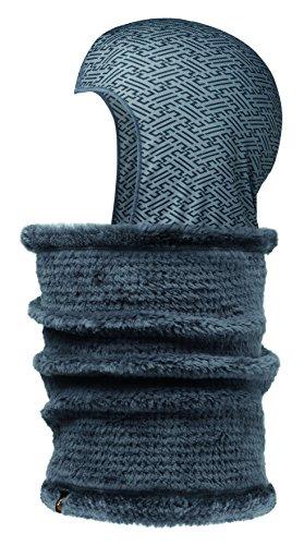 Original Buff neckwarmer & Head-Liner Buff® kureshi Gris/Gris Vanadis – neckwarmer Buff Adulte Unisexe Couleur Multicolore