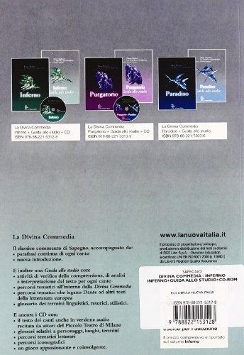 La Divina Commedia. Inferno. Con guida allo studio. Con CD-ROM
