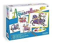 SentoSphere Aquarellum Junior - Knights - Arts and Crafts Watercolour Paint Set