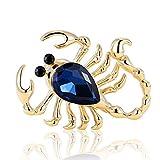 Bijoux Scorpion Broche Hommes Bijoux Collares Cristal Broche Broche Femmes Bijoux Insecte Capot Accessoires