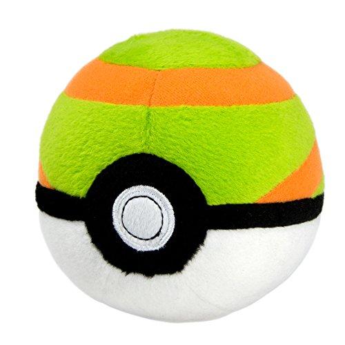 Pokemon t19359–Tomy Nest pelota de peluche, manta juguete para niños a partir de 3años , color/modelo surtido