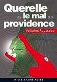 Querelle sur le Mal et la Providence : (Lisbonne 1755) (La Petite Collection t. 580)