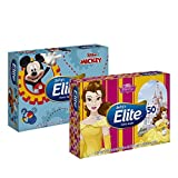 Lenço de Papel Elite Softy'S Kids Máxima Suav 50 Fls, Elite, 20 cm x 14, 8 cm cada, pacote de 50