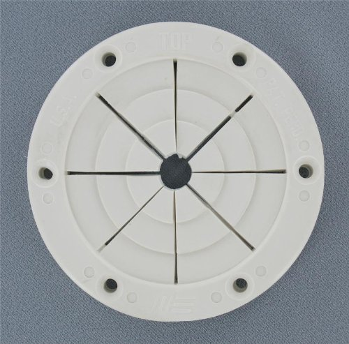 Replacement Boat Parts White Round Rod Holder, Large