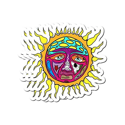 BeliNZStore Sublime Sun Stickers (3 Pcs/Pack)
