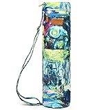 ELENTURE Full-Zip Exercise Yoga Mat Carry Bag with Multi-Functional Storage...
