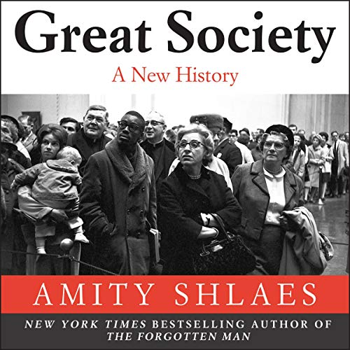 Great Society audiobook cover art