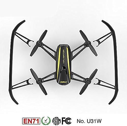 venta de ofertas Fytoo U31W RC Drone 2.4Ghz WiFi y FPV Drone con con con Cámara HD (1280 x 720P)   Modo de Suspensión Altittude   Helicóptero RC sin Cabeza  Envio gratis en todas las ordenes