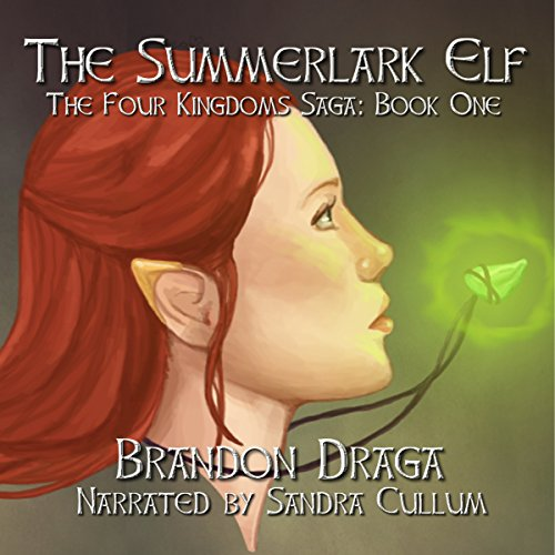 The Summerlark Elf audiobook cover art