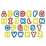 Rimobul Alphabet Dough Cutter Kit with 26...