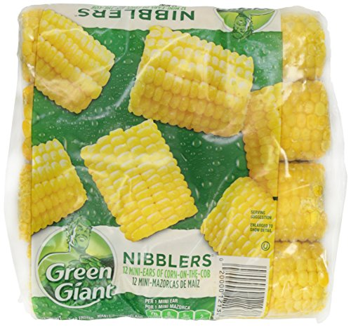 Green Giant, Nibblers Corn-On-The-Cob, Half-Ears, 12 Count (Frozen)