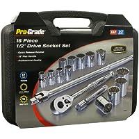 16-Piece Pro-Grade Tools 19404 1/2
