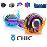 Chic Hoverboard with Bluetooth Speaker and LED Lights Self Balancing...