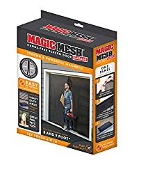in budget affordable Magic Mesh Garage – Magnetically Shielded Speakerphone for Single Garage Doors – 8ft and 9ft