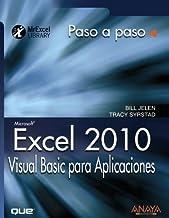 Excel 2010. Visual Basic para Aplicaciones / VBA and Macros: Microsoft Excel 2010: Paso a Paso / Step by Step by Bill Jelen (2011-02-15)
