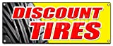 Discount Tires Banner Sign Sale Installation Balance Alignment Service