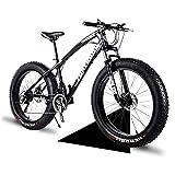 Bicicleta gorda 20 '/ 24' / 26 'Tamaño de la rueda y hombres de género Bicicleta de grasa de género de la bicicleta de nieve, moda 21 velocidad Suspensión completa Acero Doble disco freno Bicicleta de