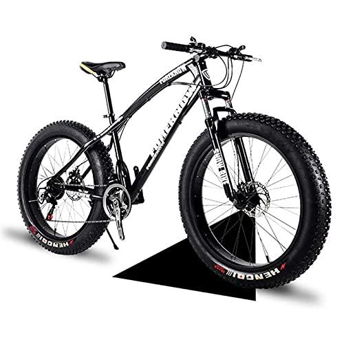 """Bicicleta gorda 20 """"/ 24"""" / 26 """"Tamaño de la rueda y hombres de género Bicicleta de grasa de género de la bicicleta de nieve, moda 21 velocidad Suspensión completa Acero Doble disco freno Bicicleta de"""