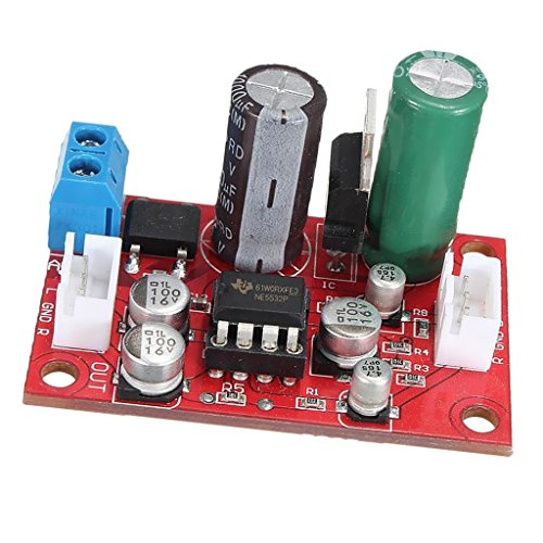 Sharplace Scheda Stereo Preamplificatore Microfonico Dinamico Ne5532 + Cavo Del Segnale