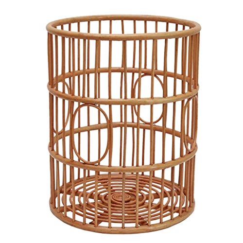 Best Review Of LHQ-HQ Storage Basket Storage Basket Rattan Hamper Magazine Basket Laundry Basket Toy...