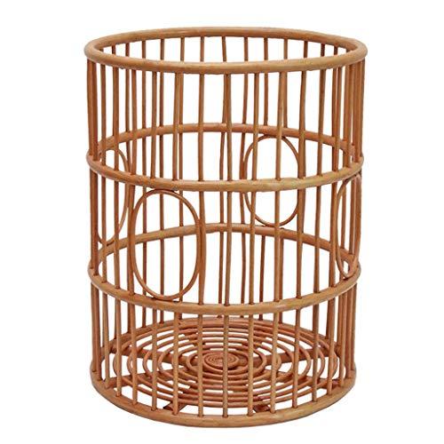 Fantastic Deal! LHQ-HQ Storage Basket Storage Basket Rattan Hamper Magazine Basket Laundry Basket To...