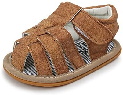 favorite Meckior Summer Baby Infant Challenge the lowest price of Japan ☆ Boys Sole Non-Sli Canvas Sandals Soft
