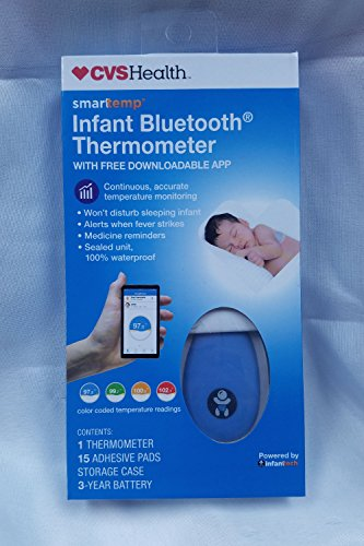 Price comparison product image CVS Health Smarttemp Infant Bluetooth Thermometer